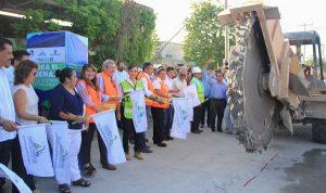 Inician obras de introducción de drenaje en la colonia Zetina Gasca de Puerto Morelos