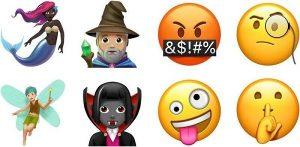 Emojis de Halloween en WhatsApp