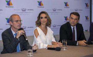 "Firma Lupita Jones contrato con TV Azteca para ""Mexicana Universal»"
