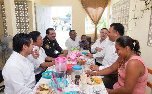 Viviendas dignas, para policías de Yucatán