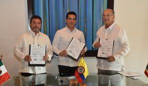 Convenio de hermanamiento entre San Francisco de Campeche y Cartagena de Indias