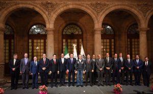 Asiste Alejandro Moreno Cárdenas a encuentro de la comisión de seguridad en CONAGO