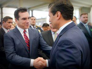 Acompaña Alejandro Moreno al Presidente Enrique Peña Nieto al Foro nacional sobre Seguridad
