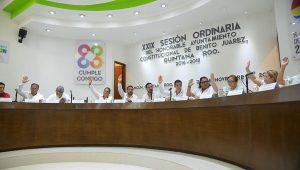 Aprueba cabildo de Benito Juárez descuentos del predial anticipado para el ejercicio 2018