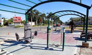 Gobierno de Remberto Estrada ultima detalles para entregar primer paquete de gimnasios al aire libre