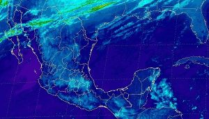 Se pronostican tormentas muy fuertes en regiones de Veracruz, Tabasco, Chiapas, Puebla y Oaxaca
