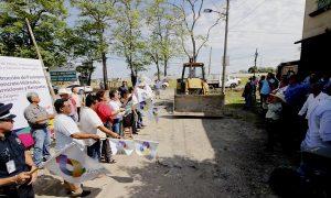 Inicia Gaudiano obra de pavimentación y drenaje en calle Oxígeno, de la colonia Indeco