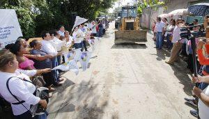 Invierte Centro 42 millones de pesos en drenaje del sector PYASUR, en Tierra Colorada