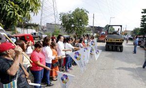 Invierte Centro 6 MDP en pavimentación asfáltica de Anacleto Canabal 2ª Sección