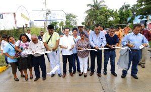 Se cumple la palabra en Insurgentes con pavimentación de Congreso de Chilpancingo