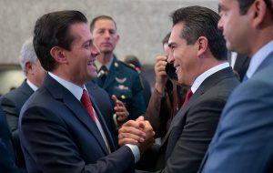 Acompaña Moreno Cárdenas a Peña Nieto en Asamblea general del INFONAVIT
