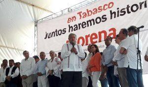 Promete AMLO refinería para Tabasco desde la presidencia