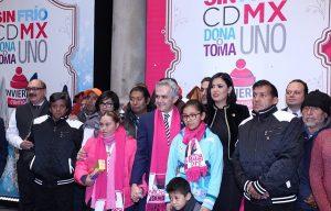 """Abriga GCDMX a población vulnerable con campaña """"Sin Frío"""""""