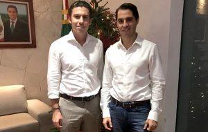 Se reúne Remberto Estrada con el nuevo delegado de FONATUR