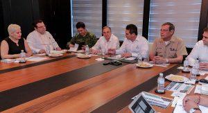 Grupo de coordinación de seguridad acuerda fortalecer labores de vigilancia en Campeche