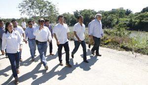 Avanzan trabajos de reconstrucción del camino en Ranchería Emiliano Zapata, constata Gaudiano