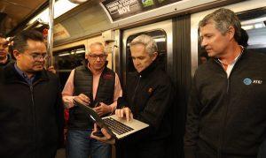 6 millones de usuarios del Metro en CDMX cuentan con Internet gratuito en Línea 7