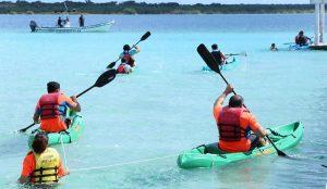 La categoría Elite del evento Desafío Verde 2017, atrae turismo deportivo a Bacalar