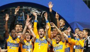 Campeones Tigres de la UANL del futbol mexicano