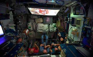 Nochebuena en la Estación Espacial Internacional