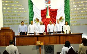 Concluye periodo ordinario de sesiones en el Congreso de Tabasco