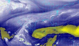 Para las próximas horas se pronostican lluvias fuertes en Veracruz y Oaxaca