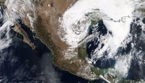 Frente Frío 14 favorecerá con norte y descenso en las temperaturas en la península de Yucatán
