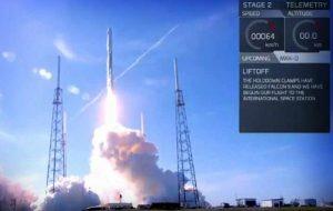 Lanza Space X con éxito cohete reciclado