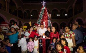 Comienzan las fiestas decembrinas en Yucatán