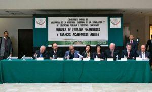 Reciben diputados estados financieros de 34 universidades integrantes de la ANUIES