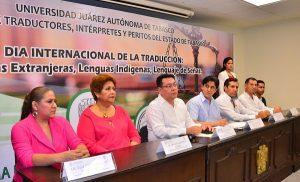 Conforman en la UJAT, Colegio de Traductores, Intérpretes y Peritos
