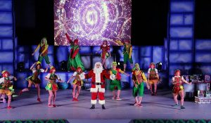 Despiden familias a la Festival de Navidad en Tabasco