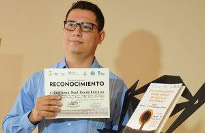 Gana estudiante de la UJAT concurso de carteles y ensayos sobre aguas residuales