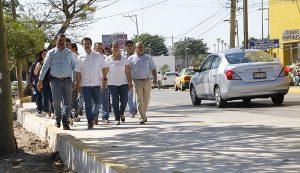 Supervisa Gaudiano adecuación vial de avenida Gregorio Méndez