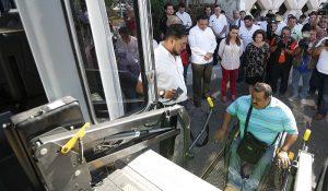 Se garantiza en Yucatán inclusión en trasporte público para personas con discapacidad