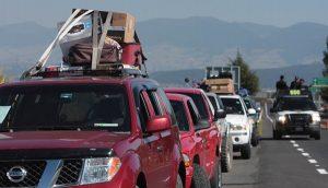 Prevé migración que cruzarán por Sonora cien mil paisanos hacia el sur