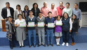 Premian a ganadores de Olimpiada de Biología