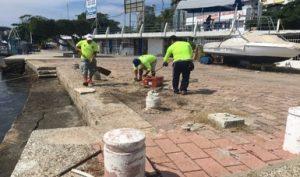 Continúa PROFEPA reordenamiento en paseo del pescador en Acapulco, Guerrero