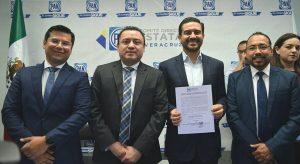 Miguel Ángel Yunes Márquez se registra como precandidato a la gubernatura de Veracruz