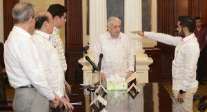 Asume Mario Oramas Secretaría Particular del Gobernador Núñez