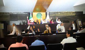Aceptan Diputados en Campeche que Sandra Sánchez sea independiente