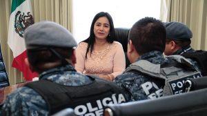Acuerda Casilda Ruiz acciones de seguridad con Gendarmería en Centro