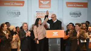 Alejandra Barrales se registra como precandidata al Gobierno CDMX por Movimiento Ciudadano