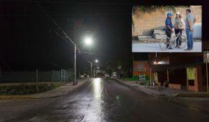 Renueva gobierno de Laura Fernández el alumbrado público de Puerto Morelos