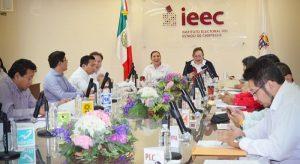 Aprueba IEEC coaliciones en Campeche