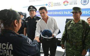 Policías mejor equipados trabajan mejor: Remberto Estrada Barba