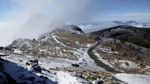 Podían registrase nevadas en zonas altas montañosas de Veracruz