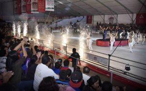 Un éxito, Feria navideña sobre hielo en Campeche