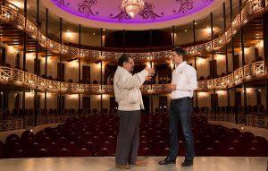 El Teatro Toro, muestra de la belleza de Campeche: Claudio Cetina Gómez