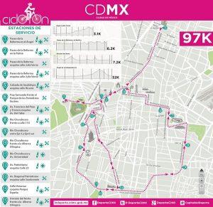 Este domingo en CDMX primer Ciclotón de 2018